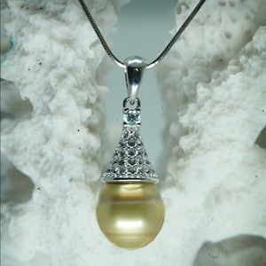 Jewelry - Pineapple Tahitian Pearl Necklace